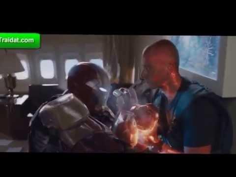 Đoạn phim hay nhất iron man 3 - 13 người rơi từ máy bay xuống không chết