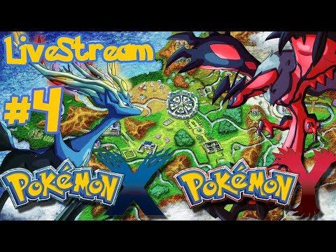 Pokemon X/Y - Pokemon X and Y: Pokemon X/Y - part 4 - LIVESTREAM