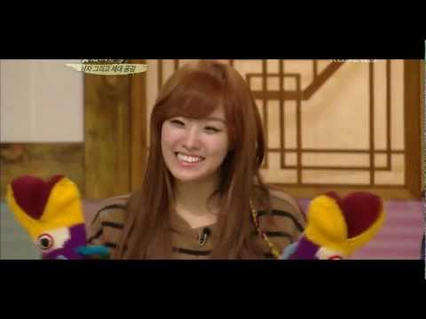 120115 SECRET Hyosung 전효성 & Jieun 송지은 - Qualifications of Men 남자의 자격 CUT 4/5