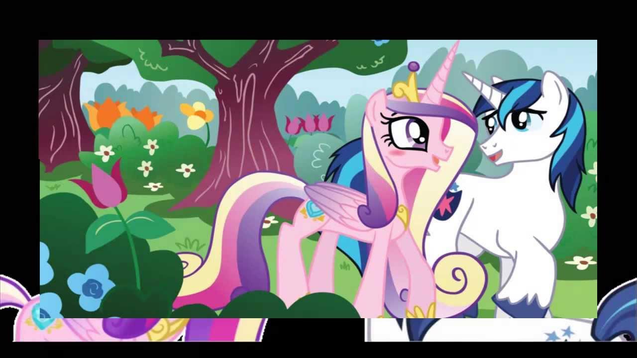princess cadence and shining armor (wedding) - YouTube