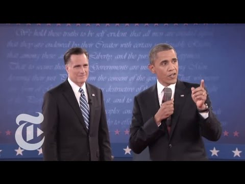 Highlights of the Second Presidential Town Hall Debate - Elections 2012