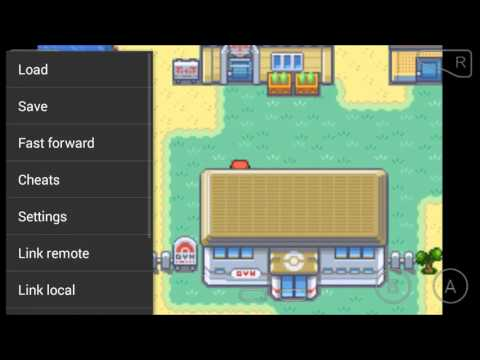 how to put in cheats for pokemon fire red