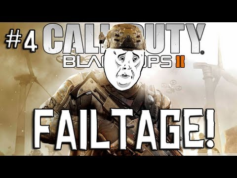 FAILTAGE! - #4 (Funny Black Ops 2 Fails)