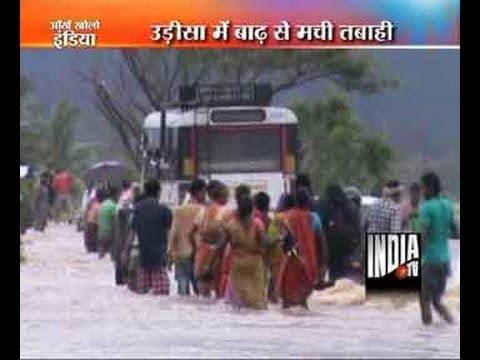Flood situation worsens in Odisha, Andhra Pradesh