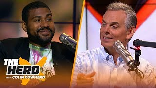 GQ's Mark Anthony Green joins Colin to talk about his article on Odell Beckham Jr. | NFL | THE HERD
