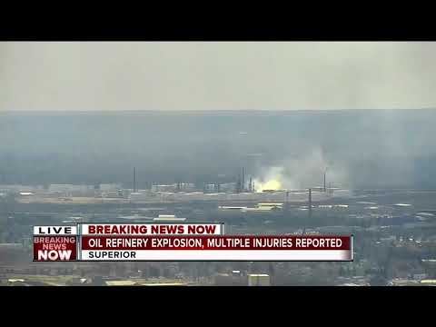 突发:威斯康辛州炼油厂爆炸 至少20人伤(图/视)