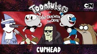 ¡THOMAS NOS SECUESTRÓ EN CUPHEAD!  | ToonTubers | Cartoon Network