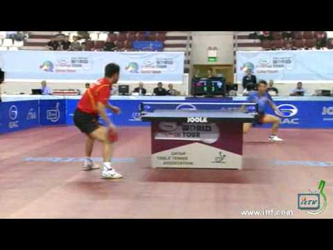 2012 Qatar Open - Men's final - WANG Hao (CHN) vs JOO Se Hyuk (KOR)