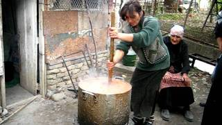 Making Churchkhela, Part 1