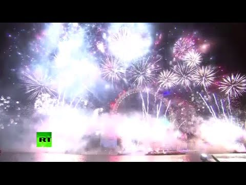Dazzling New Year fireworks: US, Russia, UK, China & New Zealand ring in 2014