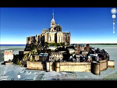HISTORICAL PLACES OF FRANCE IN GOOGLE EARTH  PART FOUR  ( 4/9 )