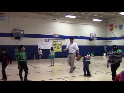 Underhand Rolling in Physical Education (3rd Grade)