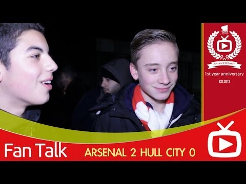 Arsenal FC 2 Hull City 0 - Mesut Ozil Was Brilliant But Bendtner Was Awful