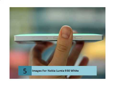 Images For Nokia Lumia 930 White