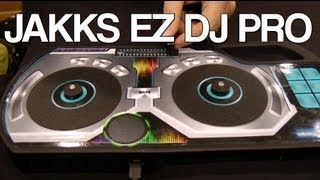 JAKKS EZ Pro DJ mixer hands-on