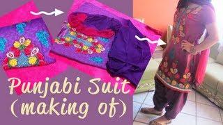 ☁ Making My Punjabi Suit ♥