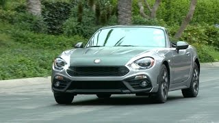 2017 Fiat 124 Spider Abarth - footage. YouCar Car Reviews.