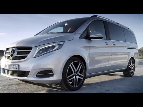 The new Mercedes-Benz V-Class Trailer | AutoMotoTV