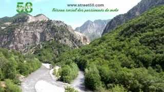 Roadbook moto Alpes Maritimes : Les Gorges de Vésubie