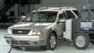 2008-2009 Ford Taurus X - IIHS Crash Tests videos