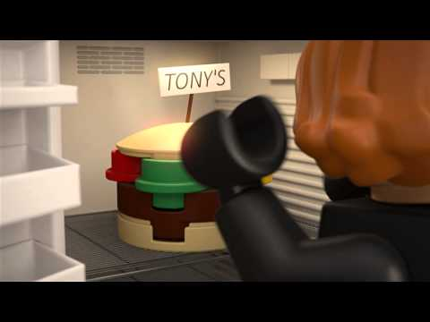 Lego Super Heroes - �ierna vdova