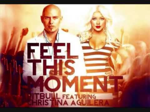 Pitbull Feat. Christina Aguilera - Feel This Moment