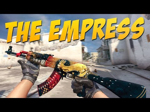 Cs Go Ak 47 The Empress Gameplay