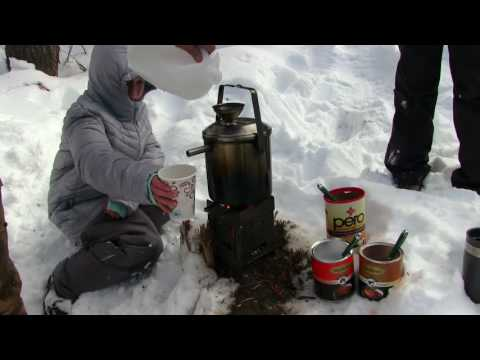 Camping Water Heater Prototype Testing & Wild Christmas Tree Cutting