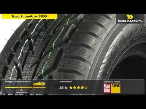 Видео обзор шин Toyo Snowprox S943