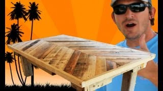 How To Build A Coffee Table Out Of Pallet Wood: Project 5