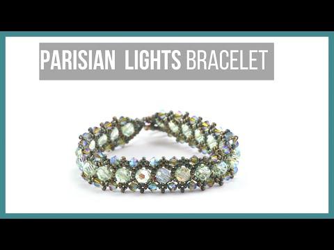 Parisian Lights Bracelet - Beaducation.com