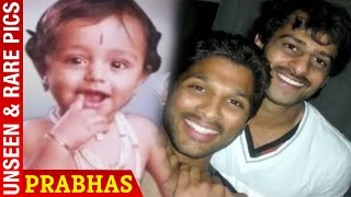 Prabhas Childhood Photos