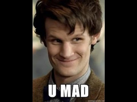 Matt smith swearing at One Direction!