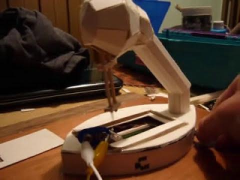 Maqueta maquina de coser velocidad variable