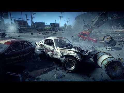 Next Car Game: Destruição Incrível (PC) Tech Demo
