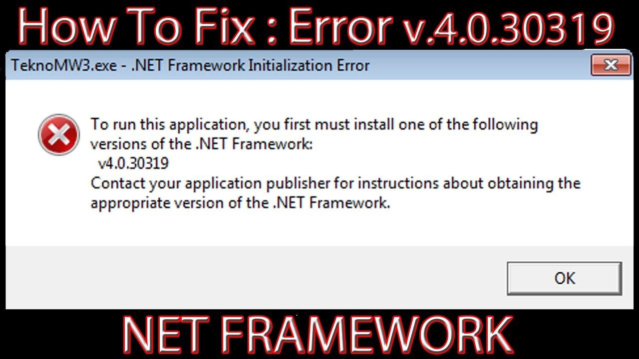Net Framework V4.0.3019 Free