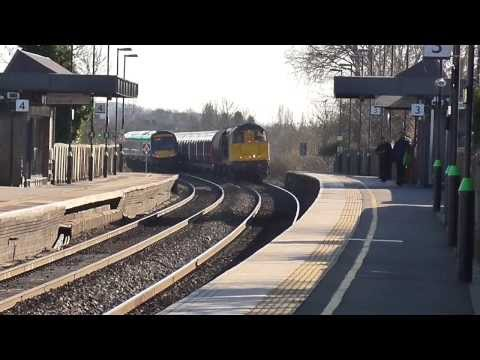 GBRf and BR blue 20s erupt past Tamworth on tube drag