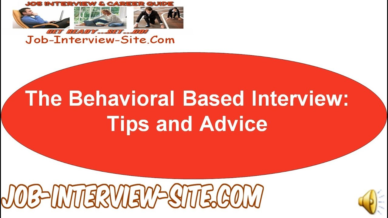 behavioral based interview question
