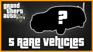 GTA V 5 Rare Vehicles