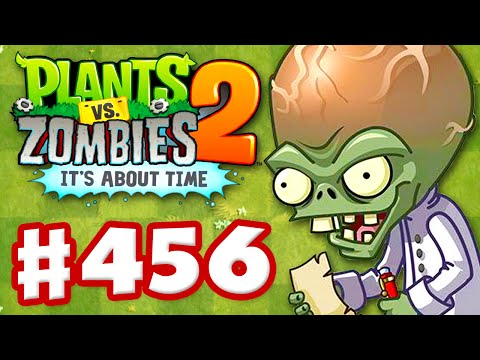 Plants vs. Zombies 2: It's About Time - Gameplay Walkthrough Part 456 - Dr. Zomboss Modern Day (iOS)