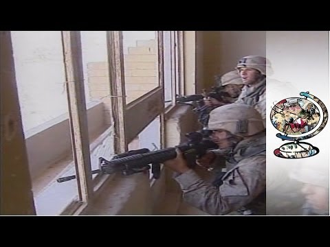 The Shocking Footage from Fallujah's Warzone