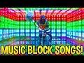 *AMAZING* Fortnite SONG CREATIONS Using Music Blocks..! (Part 2)