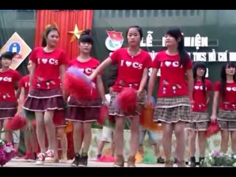 Tiết mục Aerobic của Nhóm nhảy Trường THPT Bắc Yên Thành- Năm 2013