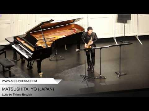 Dinant 2014 - MATSUSHITA, Yo (Lutte by Thierry Escaich)