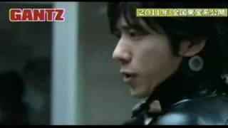 Gantz Live Action Movie 2011 Trailer #4 New Footage