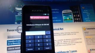 Liberar Alcatel S´Pop, Desbloquear OT-4030x De Yoigo
