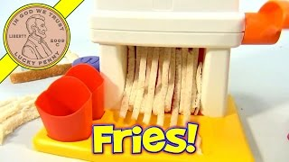 McDonald's 1993 French Fry Maker Set - Making French Fries!