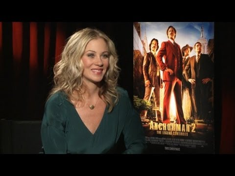 Christina Applegate on the Anchorman 2 Alternate Cut | POPSUGAR Interview