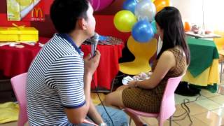 Pinoy Henyo Wedding Proposal