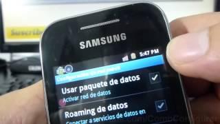 Como Activar Y Desactivar 2g Samsung Galaxy Y S5360